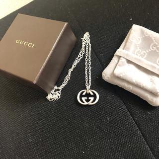 Gucci - 正規品 GUCCI グッチ ネックレス シルバー925 刻印あり