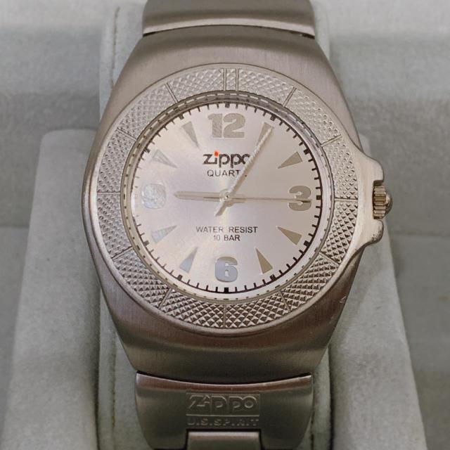ZIPPO - Zippo クオーツ腕時計の通販 by 888プロフ必読|ジッポーならラクマ