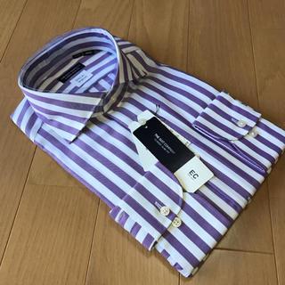 スーツカンパニー(THE SUIT COMPANY)のスーツカンパニー長袖ドレスシャツM39-84cmカッタウェイ ロンドンストライプ(シャツ)