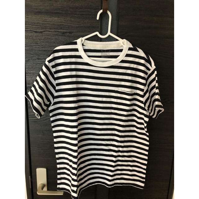MUJI (無印良品)(ムジルシリョウヒン)の無印良品 ボーダーTシャツ メンズのトップス(Tシャツ/カットソー(半袖/袖なし))の商品写真