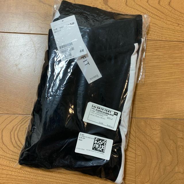 H&M(エイチアンドエム)の新品未使用 サイドラインレギンス レディースのレッグウェア(レギンス/スパッツ)の商品写真