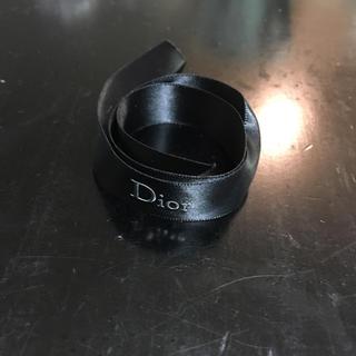 ディオール(Dior)のDior ブラック リボン ラッピング(ラッピング/包装)