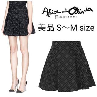 アリスアンドオリビア(Alice+Olivia)のalice+olivia フレアスカート(ミニスカート)