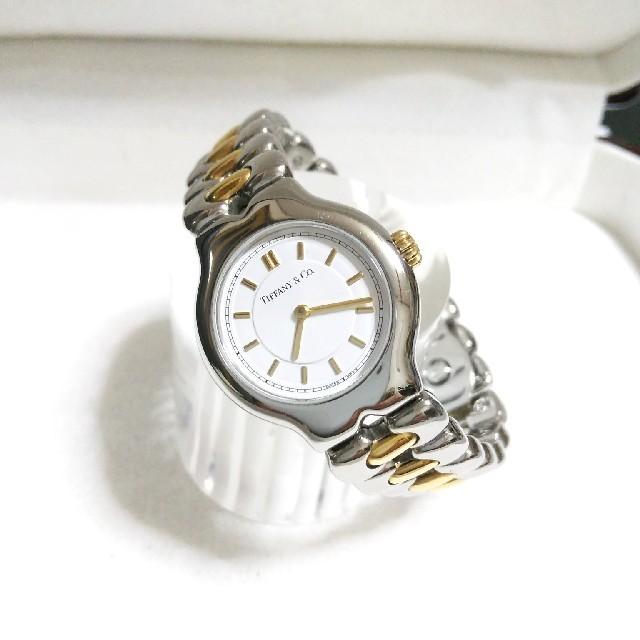 Tiffany & Co. - 貴重美品 ティファニー テソロ 18Kコンビ レディース腕時計の通販 by ボンベイサファイア's shop|ティファニーならラクマ