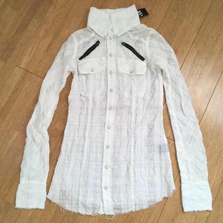 ルグランブルー(LGB)のL.G.B SHIRT-G 白シャツ(シャツ/ブラウス(長袖/七分))