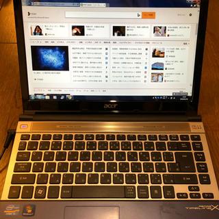 Acer - 【週末限定特価】Acer ノートパソコン Windows7  corei5