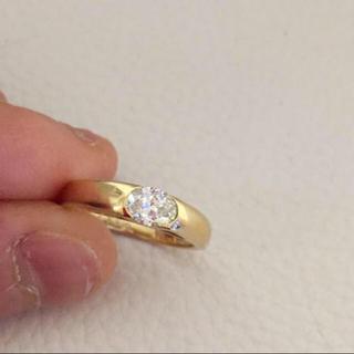 ダイヤ 0.347カラット 指輪 定価26万円 サイズ6.5号(リング(指輪))