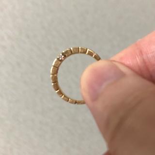 エテ(ete)のete イエローゴールド リング キュービックジルコニア K10 5号(リング(指輪))