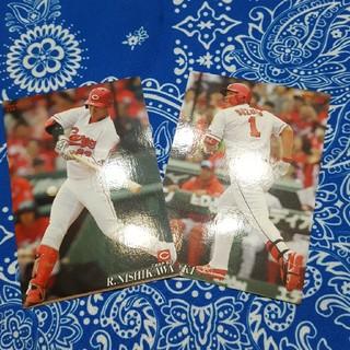 プロ野球チップスカード2枚