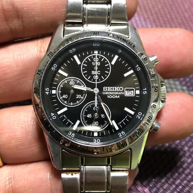SEIKO - seiko セイコー クロノグラフ クォーツ 7T02-0DW0 メンズ腕時計の通販 by モンドナカムラ's shop|セイコーならラクマ