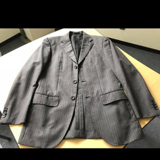 MUJI (無印良品) - MUJI無印良品スーツ新品とそん色ない美品ジャケット+新品パンツ