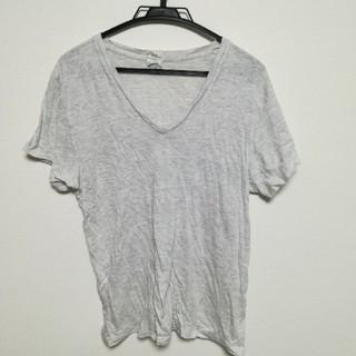 Vネック シャツ Lサイズ(Tシャツ/カットソー(半袖/袖なし))