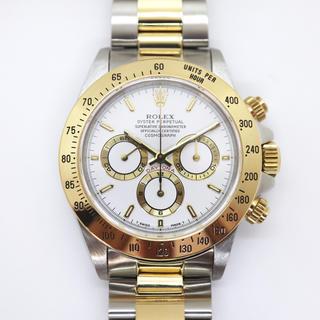 ロレックス(ROLEX)のROLEX デイトナ 16523 W番 1995年 YG × SS コンビ中古(腕時計(アナログ))