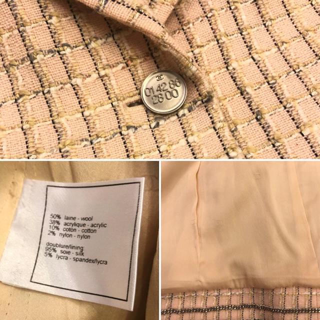 CHANEL(シャネル)のCHANEL ジャケット レディースのジャケット/アウター(テーラードジャケット)の商品写真