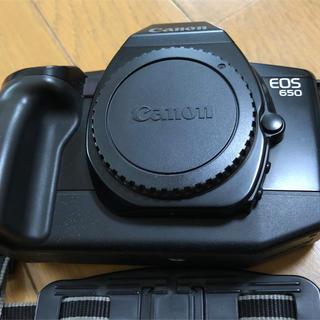 キヤノン(Canon)のCanon EOS 650 銀塩カメラです(フィルムカメラ)