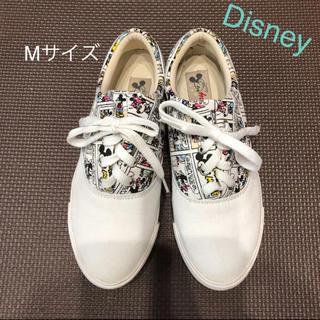 Disney - Disney♡ アメコミ風 スニーカー Mサイズ