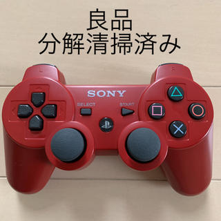 PlayStation3 - PS3 コントローラー 良品 SONY 純正 DUALSHOCK3 濃赤