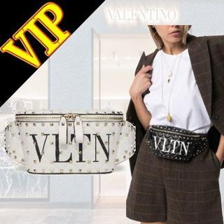 ヴァレンティノガラヴァーニ(valentino garavani)のVLTN ロックスタッド スパイク West Poach(ボディバッグ/ウエストポーチ)