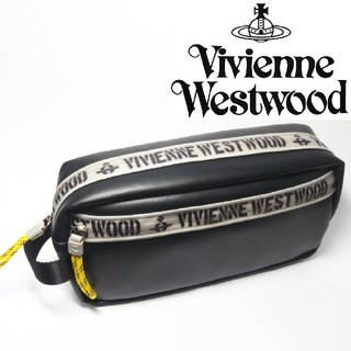 Vivienne Westwood - 【新品タグ付き】ヴィヴィアンウエストウッド ポーチ/ハンドバッグ 黒