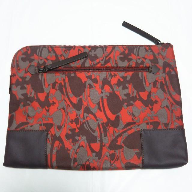 Vivienne Westwood(ヴィヴィアンウエストウッド)の【新品タグ付き】ヴィヴィアンウエストウッド クラッチバッグ/セカンドバッグ 赤 レディースのバッグ(クラッチバッグ)の商品写真