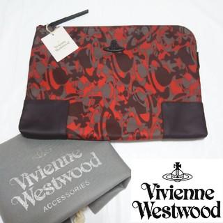 Vivienne Westwood - 【新品タグ付き】ヴィヴィアンウエストウッド クラッチバッグ/セカンドバッグ 赤
