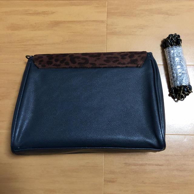 earth music & ecology(アースミュージックアンドエコロジー)のヒョウ柄ショルダーバッグ レディースのバッグ(ショルダーバッグ)の商品写真