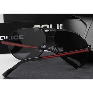 ポリス(POLICE)の赤のアクセント◎かっこいい❗️ポリス 偏向グラス サングラス(サングラス/メガネ)