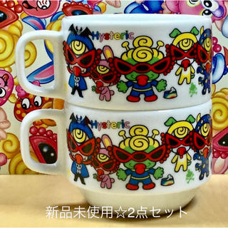 HYSTERIC MINI - ヒスミニ☆正規品☆新品☆ティーカップ☆2点☆陶器☆モンスター☆スープカップ