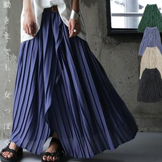 antiqua - ※カラーはレトログリーン☆彡【antiqua】2way プリーツ スカート