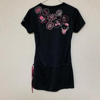 ハローキティ(ハローキティ)の maria 様 キティちゃんのお洋服3点セット スポーツウエア コラボ (Tシャツ(半袖/袖なし))