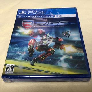 プレイステーションヴィーアール(PlayStation VR)の【未開封品】RIGS Machine Combat League PSVR(家庭用ゲームソフト)