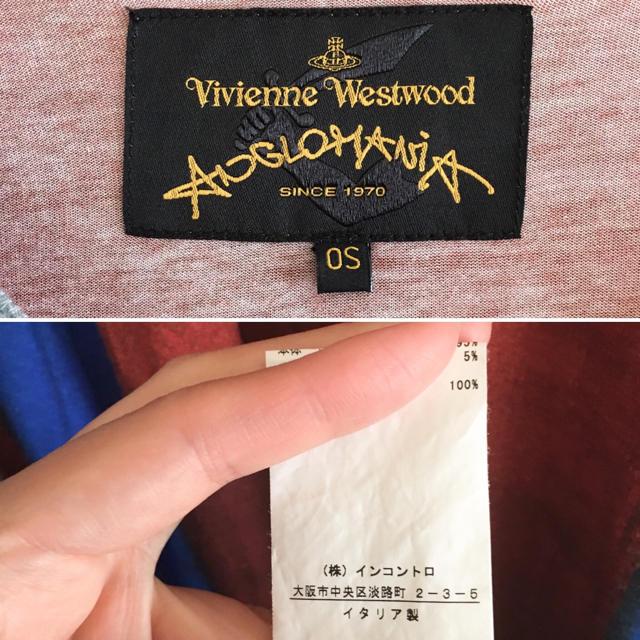 Vivienne Westwood(ヴィヴィアンウエストウッド)のVivienne  Westwood ユニオンジャック ビッグ カットソー レディースのトップス(カットソー(長袖/七分))の商品写真