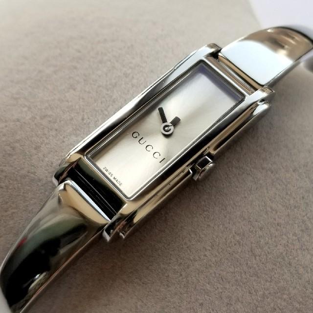 Gucci - 美品 グッチ 腕時計 レディース GUCCI 時計 109 シルバー バングルの通販 by ぷりりん's shop|グッチならラクマ