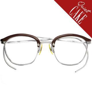 1930sUSA ヴィンテージ アメリカンオプティカル ブロー眼鏡 アンティーク(サングラス/メガネ)