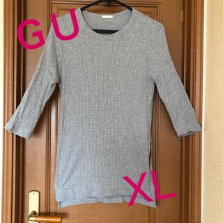 ジーユー(GU)の☆GU❣️七分袖 ロングTシャツ(Tシャツ(長袖/七分))