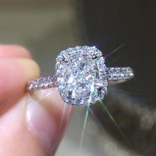 🉐gia1.01カラット婚約指輪(リング(指輪))