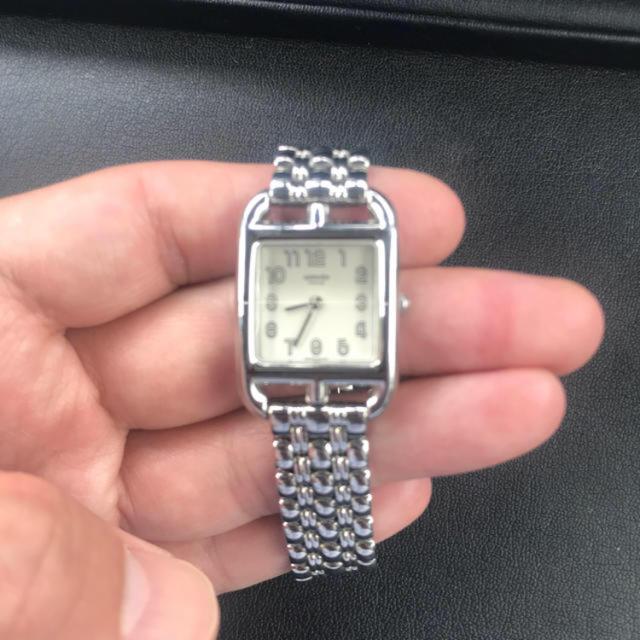 Hermes - 美品 エルメス ケープコッド cc1.210 腕時計の通販 by ライジン's shop|エルメスならラクマ
