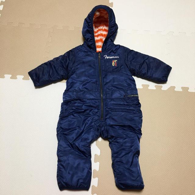 BREEZE(ブリーズ)のブリーズ☆ジャンプスーツ☆70 キッズ/ベビー/マタニティのベビー服(~85cm)(ジャケット/コート)の商品写真