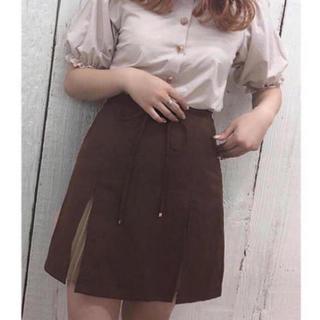 新品 one after another NICE CLAUP プリーツスカート