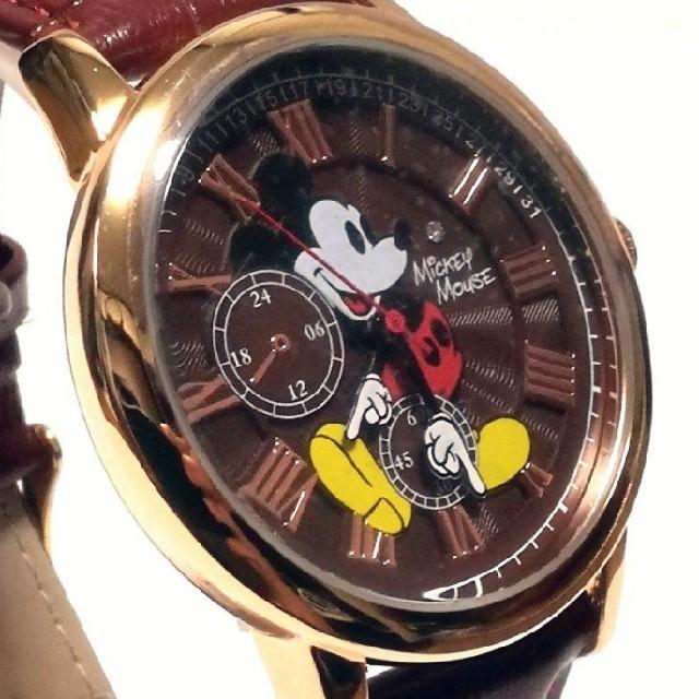 【☆世界限定生産品☆】ディズニー ミッキー 腕時計     クロノグラフモデルの通販 by りおなちん☆'s shop|ラクマ