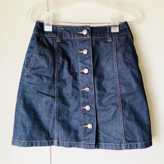 ローリーズファーム(LOWRYS FARM)のデニム 台形スカート(ミニスカート)