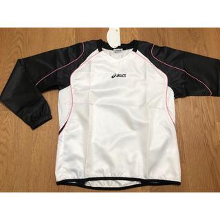 アシックス(asics)のバレーボール ウォームアップシャツ / レディースL / アシックス /ホワイト(バレーボール)