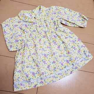 familiar - familiar 70 長袖 ワンピース