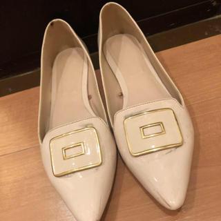 ザラ(ZARA)の🥿値下げ‼️ZARA ローヒールパンプス(ローファー/革靴)