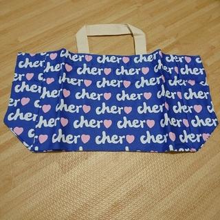 シェル(Cher)の☆cher トートバッグ ブルー☆(トートバッグ)