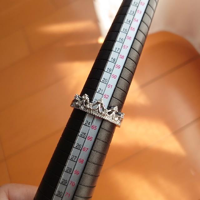 【最終価格】新品 インポート リング 23号 シルバーカラー レディースのアクセサリー(リング(指輪))の商品写真
