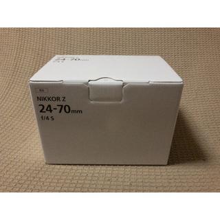 ニコン(Nikon)の新品未使用 ニコン NIKKOR Z 24-70mm f/4 S(レンズ(ズーム))