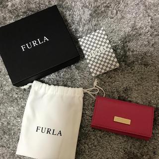 フルラ(Furla)のFURLA キーケース 濃ピンク(キーケース)