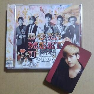 シャイニー(SHINee)のSHINee「Boys Meet U」通常盤(トレカ:ジョンヒョン)(K-POP/アジア)
