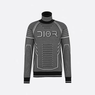 ディオールオム(DIOR HOMME)の【DIOR HOMME】19AW テクニカルウール タートルネックセーター (ニット/セーター)